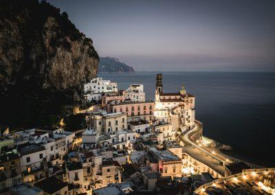 Amalfi by night