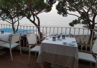 Breakfast with view in Amalfi