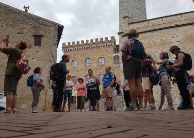 exploring San Gimginano