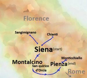 tuscany trip itinerary