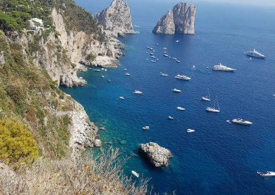 views in Capri