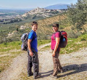 UMBRIA, ASSISI & LE MARCHE walk about italy