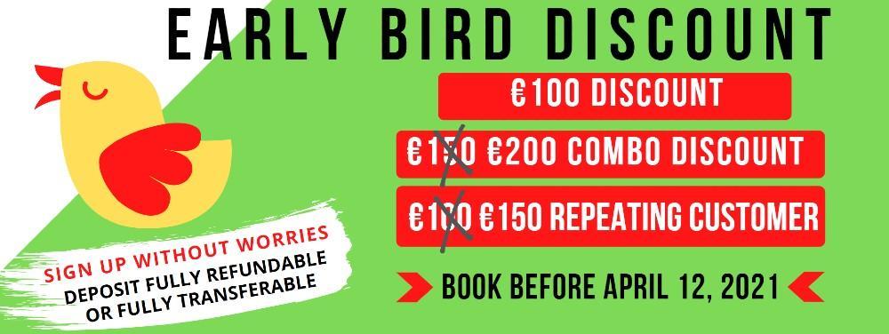 early bird italian tours