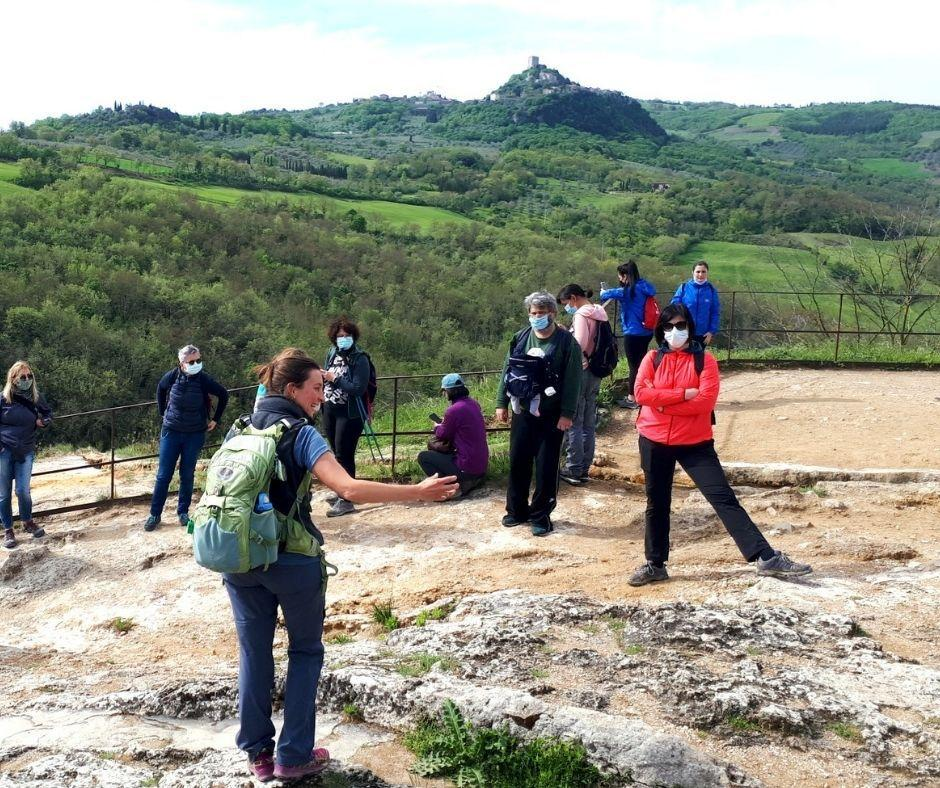 Return to lead a group in one of the most evocative villages in Tuscany