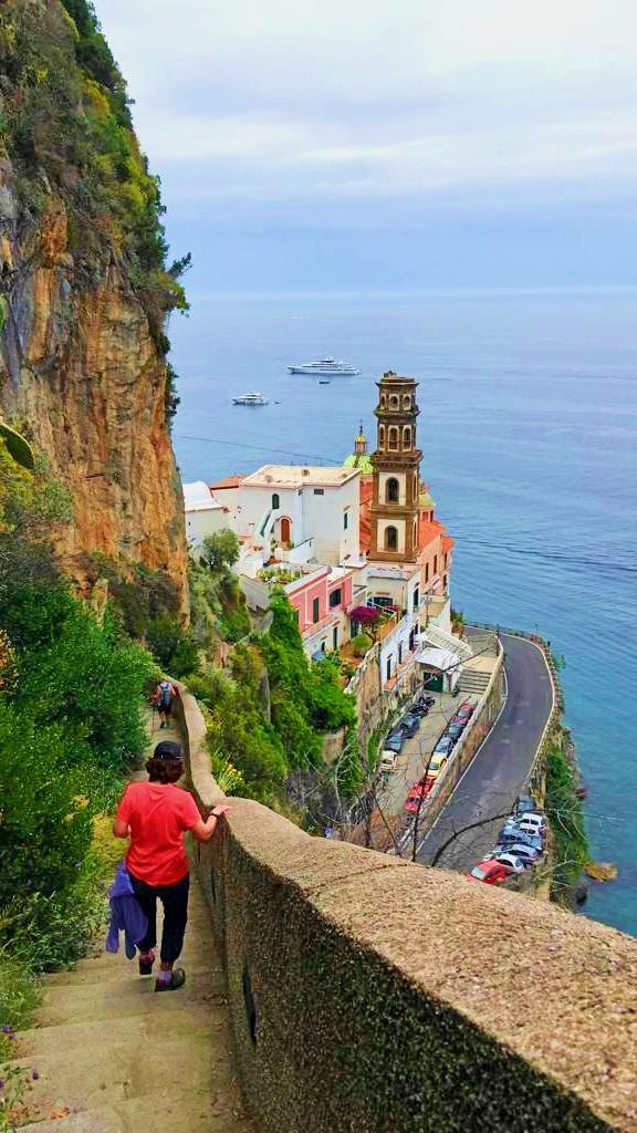amalfi walking tour